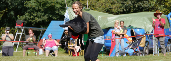 Dog Frisbee Disccrusher
