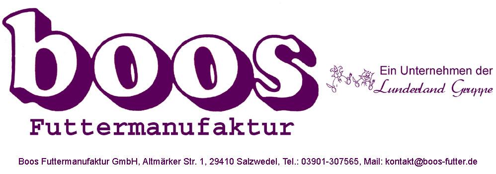 Logo Boos Hundefutter