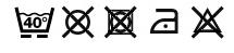 Waschanleitungs Symbole